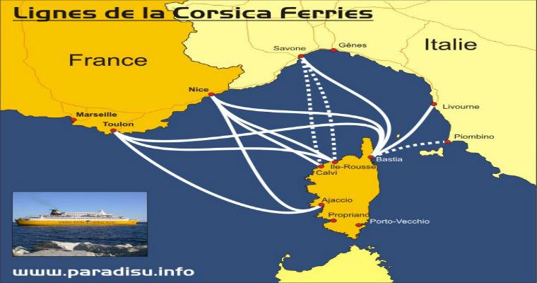 Carte Ferry Corse Italie.Corsica Ferries Office De Tourisme De Bastia